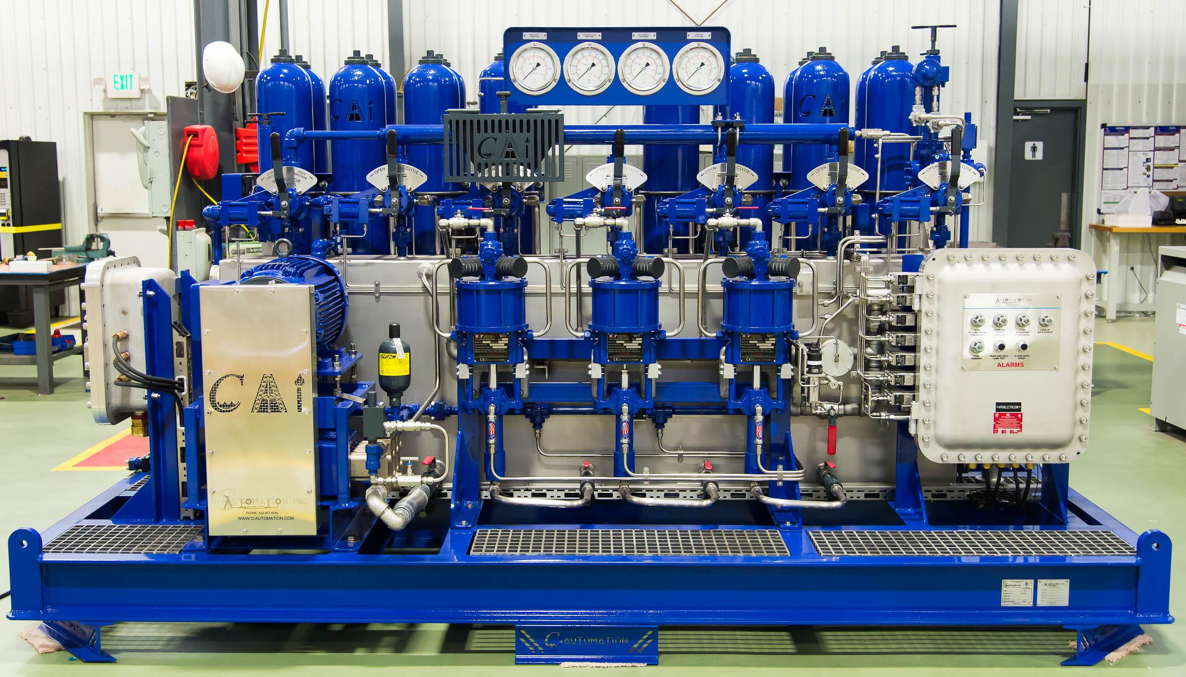 Hydraulic Power Units Bop Control Units Plc Upgrade Panels